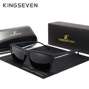 Oculos Brand Men Sunglasses Driving Black Polarized Fashion Men's Glasses KINGSEVEN Frame Shades Sun Eyewear Gfkcx