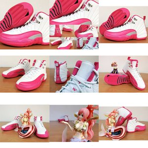Basketball New Valentines Sneakers 12 Gs Women Day Dynamic Perfect Cheap 12s Pink White Shoes Top QualityA8SZA8SZA8SZ