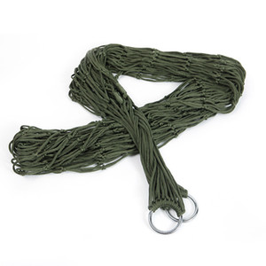 Hammock Nylon Rope Reticular Portable Many Colour Swing Camp Leisure Time Hammocks Outdoors Articles Factory Direct Selling 6 7tp p1