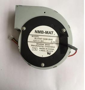 Para NMB BL4447-04W-B49 11028 73 110 milímetros 4wire DC12V 2.0A 4Pin DC BRUSHLESS MOTOR DO VENTILADOR ventoinha