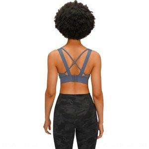 Para Rearadjustable New Underwear Mulheres Underwe à prova de choque Merillat Bra New Rearadjustable Sports Merillat Cruz à prova de choque Sports Cruz FICV