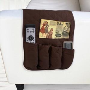 1Pcs Sofa Side Storage Bag Handrails Bag Pocket Bedside Hanger TV Remote Control Storage New
