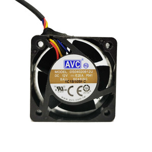 new dicated Cooling Fan For AVC DS04020B12U 4020 40MM 4CM 40X40X20 DC 12V 0.25A for Jetson Nano, PWM Speed Adjustment Strong Air