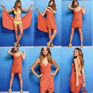 Magic Bath Towels Lady Girls SPA Shower Towel Body Wrap Bath Robe Bathrobe Beach Dress Wearable Magic Towel Variety Bathing Beach