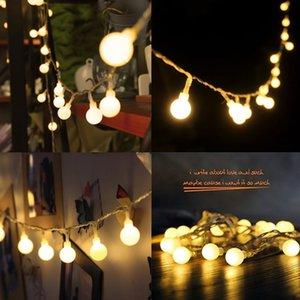 10M 100 LEDs 110V 220V IP44 Outdoor Multicolor LED String Lights Christmas Lights Holiday Wedding party decoration Luces LED 201203