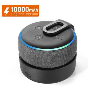 GGMM D3 + Batteriebasis für Amazon Alexa Echo Dot 3rd Gen Alexa Lautsprecher 10000mAh Batterieaufladung für Echo Dot 3 16h Spielzeit