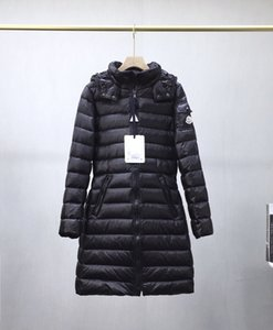 inverno 2020 novas senhoras designer de jaqueta moda de luxo MONC casaco longo para baixo do revestimento do revestimento de alta qualidade senhoras elegantes