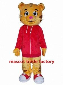 Оптовая Продажа нарасхват Daniel Tiger костюм талисмана Daniel Tiger Мех костюмы талисмана 84XZ #