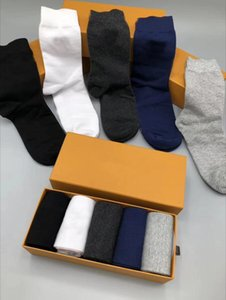 mens socks Wholesale Fashion Women and Men Casual socks High Quality Cotton Socks Letter Breathable 100% Cotton Sports Wholesale