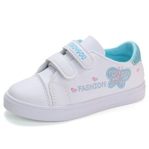 Bekamille bambini scarpe sportive autunno ragazze infantile per bambini ricamo frotterfly scarpe bambini casual sneakers scarpe da corsa studenti 201201