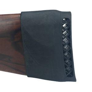 Tourbon الصيد بندقية الملحقات التكتيكية الادسنس البندقية ارتداد الوسادة buttstock المطاط وسادة بندقية اطلاق النار الانزلاق