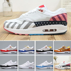 Classic cushion 1 87 have a day time capsule pack men women running shoes Athletic CNY anniversary aqua tinker black Women Sneakers Trainers