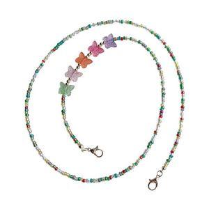 Holder a farfalla Mask Holder Hanging Moda Perle Accessori Occhiali colorati Bambini perdita di perdita prevenzione di alta qualità 3 5LX K2