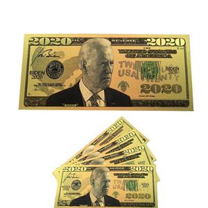 24k Us Dollars Banknote Gold Commemorative Election Crafts America General Biden Foil Coin Bills President qylvS mywjqq