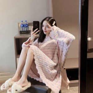 Frau Pullover neuen Pullover Frauen Winter 2020 helle silk Super Fee Pullover ausländische Modekleid TYJTJY gestrickt