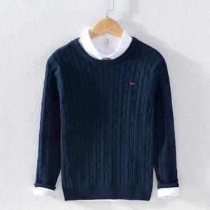 Maglioni da uomo Uomo Armonto Breve calda maglione invernale caldo per casual pullover in cotone pullover modello geometrico cappotto