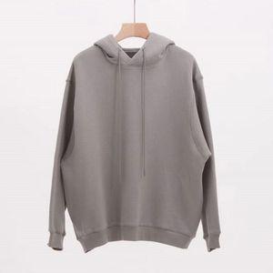 19SS двойной дизайн с капюшоном капюшон пуловер с длинным рукавом толстовки уличные стиль толстовки мужчины женщины хип-хоп повседневная уличная одежда размер S-XL