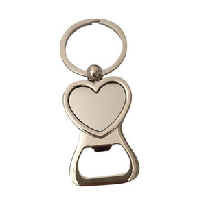 FREE SHIPPING BY DHL 100pcs lot Zinc Alloy Heart Bottle Opener Keyrings Personalized Wedding Favors Key Chains Gifts 2020new