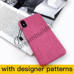 أزياء الحالات الهاتف لآيفون 12pro ماكس 12 ميني 11 XR XS ماكس 7/8 بلس بو الجلود الهاتف شل لسامسونج S20 S10 زائد ملاحظة 8 9 10Plus