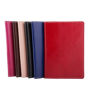 100pcs Fashon Plain Travel Passport Holder Cover ID Card Cover Case Bag Passport Wallet Protective Sleeve Storage Bag