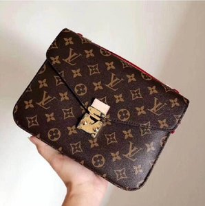 Bag Designers Elegant Oxidizing Women Messenger Shoulder POCHETTE Metis Bags 40780 Bags Shopping Leather Crossbody Purse Clutches Handb Aobu