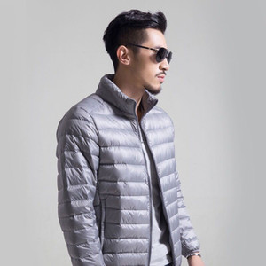 Men S Clothing Light Winter Weight Down Size Stand Collar Jacke Coat Men Jacket Light Designers Increase 2021 New Winter Jackets Down M Sivs