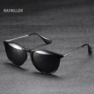 نساء جولة نظارات شمسية عدسة النظارات الاستقطاب النظارات حالة الرجال معكوسة حزب القيادة ل raykiller في الهواء الطلق مع UV400 QGFDF