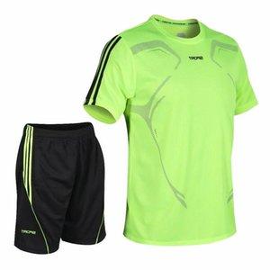 Esporte 2020 Novos Homens Tracksuit Esportes e Mulheres Sportswear Gym Roupas Rápido Running Seco Jogging Futebol Terno