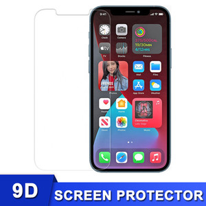 2.5D 9H Hardness Tempered Glass for iPhone 12 Mini Pro Max 11 XR Xs 7 8 SE2 Screen Protector 0.26mm High Clear without Package