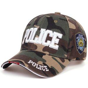 New Fashion Mens Tactical Cap POLICE POLICIA PAZIEBAMERA Berretti da baseball per uomini Donne Snapback Cappelli Bone Army Cap Sport Sport Cappelli da golf per il tempo libero Q1223