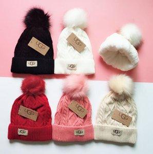 Luxus-Winter-Marke CANADA Männer Mütze Modedesigner Bonnet Frauen beiläufige Strick Hip-Hop-Kalotte im Freien Hut 090