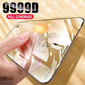 Full Cover Anti-Fingerprint Tempered Glass HD Ultra thin Screen Protector Film For iPhone 12 11 Pro Max XS XR 7 8 6 6S SE 2020