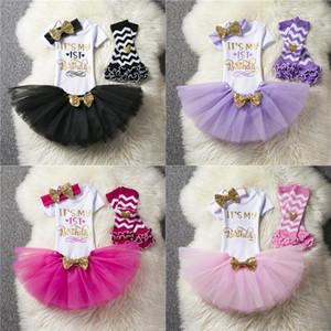 Clothing Sets 2021 Baby Girl Dress Born Clothes My 1st Birthday For Christening Infant Baptism Princess Children Vestidos1