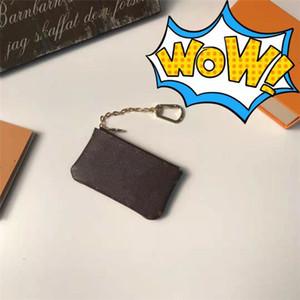 2020 portefeuilles porte-clés pièces porte-monnaie portefeuille mâle clé Pochette femme porte-cartes Sacs à main en cuir chaîne de cartes Mini portefeuille porte sac à main poche sac à main