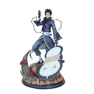 30cm Naruto Figure Uchiha Obito Uchiha Madara Action figure New Naruto Shippuden Figure toys Y200421