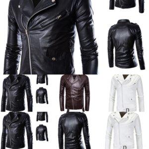 D9X Cross Border Популярный осенний дизайнер и свитер Большая одежда Цифровые кожаные капюшоны Fake Fake Twof Parted Part Winter Hard кожа