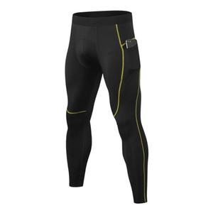 Men's PRO High Elastic Tight Quick-drying Sweat Long Pants
