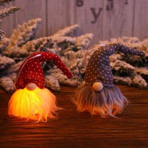 Christmas Handmade Swedish Gnome Scandinavian Nordic Plush Elf Toy Table Ornament Xmas Tree Decorations ZZA1440