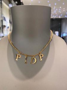 أزياء إلكتروني الذهب سلسلة قلادة سوار للرجال والنساء حزب عشاق هدية مجوهرات مع مربع