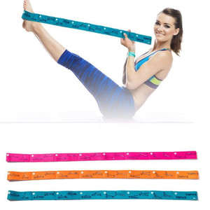 Yoga Stretching con resistenza alla tensione Belt Belt Dance Training Tension Belt Ballet Vita Band Stretch Strap W # 1