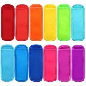 Antifreezing Picksicle Bags Congelador Popsicle Titulares Reusável Neoprene Isolamento Ice Mangas de Gelo Saco Para Crianças Verão Cozinha Ferramentas ZYC18