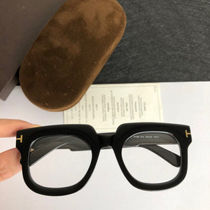 New Unisex TF729 Big Square Plank Fulrim Sunglasses Glasses Frame 58-13-145 for Prescription fullset packing box