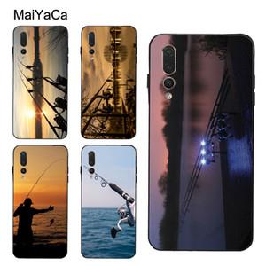 CARP FISHING RODS Case For Huawei P30 Pro P20 P40 Mate Lite P Smart 2019 Nova 5T Honor 8A 8X 9X 10i 20