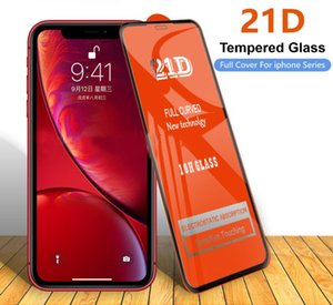 21D Curve screen protector for iPhone 12 curved glass protector for iPhone 12 Mini 11 Pro Max XS x 86S plus se2 for iphpne 12pro