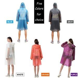 Jacket New Design Yuding Jlluej Hooded Tpu Mens Black Rain Coat Raincoat Fashion Women High Waterproof Ladies Long Fiv Quality Vurop