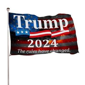 150 * 90cm Trump Drapeau 2020 2024 États-Unis Président Election Banner Biden Flag Polyester Decor Bannière LLA289