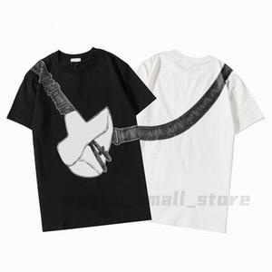 20ss Luxe Polo Erkek Bayan Tasarımcı Tişörtleri Eyer Çanta Baskılı Moda Adam T-shirt En Kaliteli Pamuk Rahat Tees Kısa Kollu