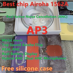 Best ANC Airoha 1562A chip Renamed headset 3nd Generation Wireless Charging Bluetooth Earphones GPS Positioning with Valid Serial Number
