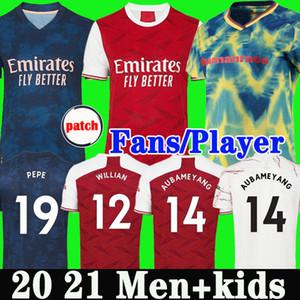 Thailandia Arsenal maglia da calcio 20 21 soccer jersey football shirt Aubameyang Lacazette WILLIAN 2020 2021 Camiseta Xhaka Ozil del corredo di calcio della camicia uniformi