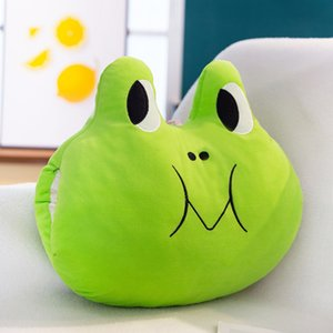 14 inch Animal dolls Chubby Frog Doll toys Cute animal pillow 2020 hot selling Plush Pillow gift of the friend